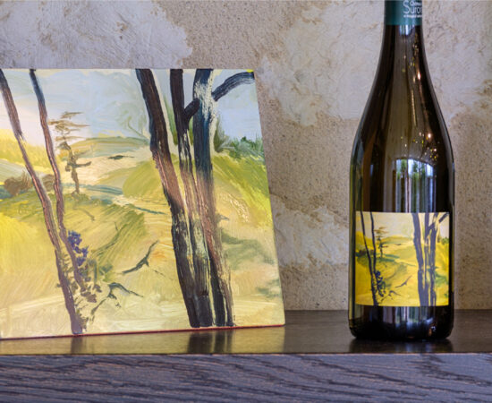 Artwork Stefan Peters for the Coteaux Layon wine