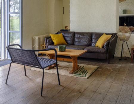 Château de Suronde living room